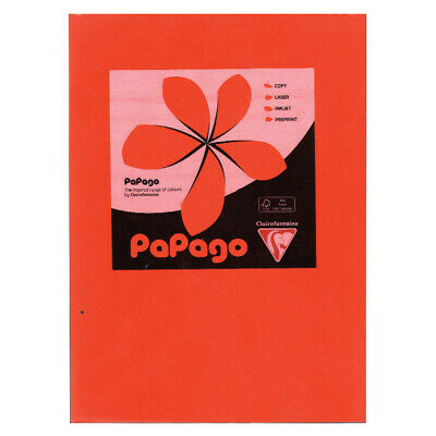 Papago A4 Copier Paper Orange 80 Gsm (500)