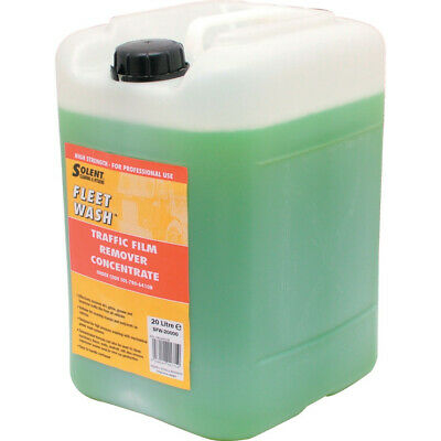 Solent Cleaning Sfw-20000 Fleet Wash Traffic Film Remover 20Ltr