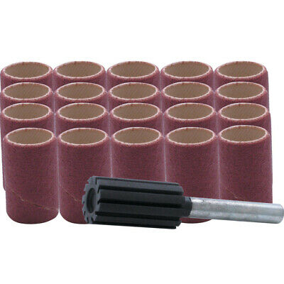 York 51 x 25mm Aluminium Oxide spiral Sanding Band Kits - 21 Piece