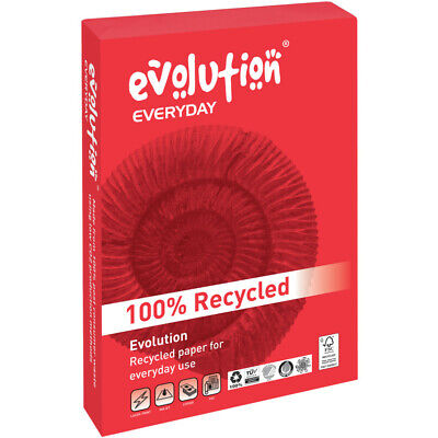 Evolution A4 80GSM White Recycled Paper (500)