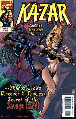 Ka-Zar (3rd Series) #18 1998 VG Stock Image Low Grade