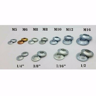 Misalignment Spacer Washer Metric Imperial Tapered Joint Size Reducer