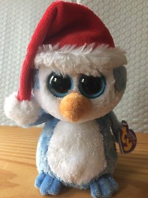 c393498cfdc Ty Beanie Boos Fairbanks the Holiday Penguin 6
