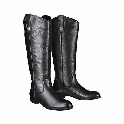 Womens Merona Kasia Tall Black Leather Upper Leather Boots