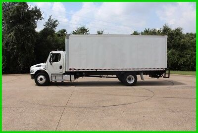 2009 Freightliner m2 24 foot box WHITE Used box truck