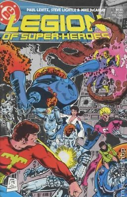 Legion of Super-Heroes (3rd Series) #7 1985 VG Stock Image Low Grade
