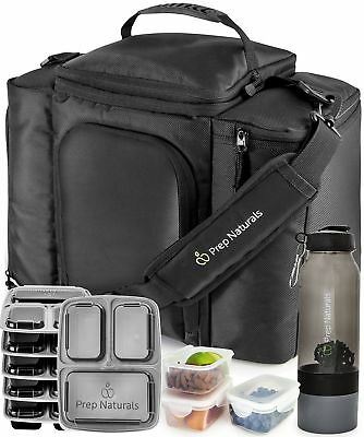 Meal Prep Bag Lunch Box Insulated Backpack Cooler Lunchbox