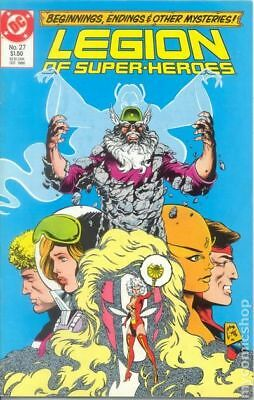 Legion of Super-Heroes (3rd Series) #27 1986 VF Stock Image