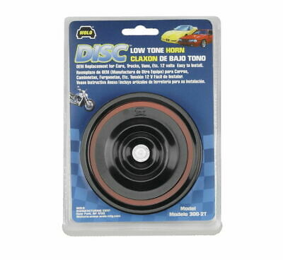 Wolo Motorcycle Disc Horn Low-Tone 300-2T