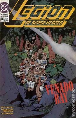 Legion of Super-Heroes (4th Series) #20 1991 VF Stock Image