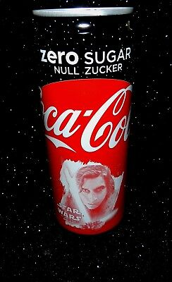 NEU  STAR WARS Kylo Ren COCA COLA Zero Dose  0,33L The last Jedi Limited Edition