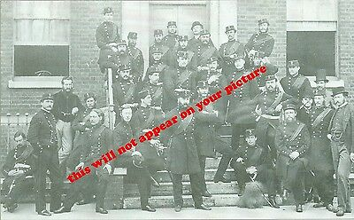 Uniforms. Royal Irish Regt. 89th Foot. Officers in Portsmouth   1865