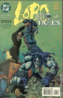 Lobo Death and Taxes #4 1997 FN- 5.5 Stock Image Low Grade