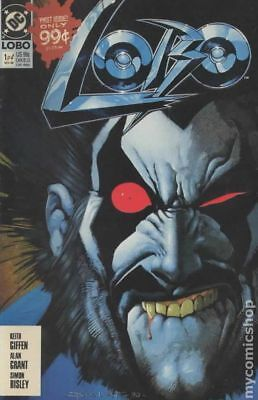 Lobo (1st Series DC) 1A 1990 1st Printing FN Stock Image