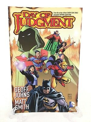 Day of Judgment JLA Geoff Johns Collects #1 2 3 4 5 DC Comics TPB Paperback New