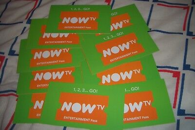 NOW TV 4 Months Entertainment Pass - Genuine Passes