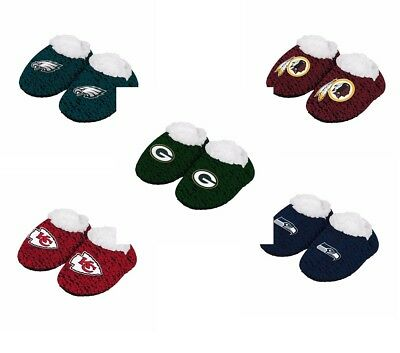 San Francisco Giants POLY KNIT Infant Newborn Baby Booties Slippers Shower Gift
