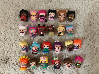 New Loose Lot Of 24 Mattel Mini Mixie Q's Series 1 Wave 2 Figures Special Rares