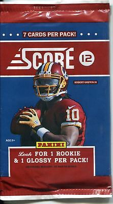 Panini Score American Football 2012 Factory Sealed Retail Packet / Pack