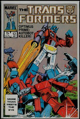 Marvel Comics More Than Meets The Eye The TRANSFORMERS #12 VFN/NM 9.0