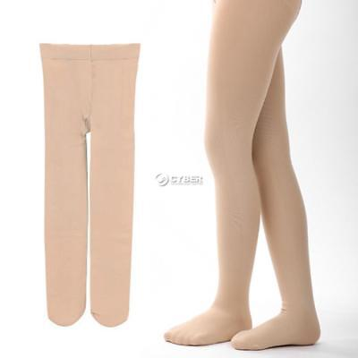 Children's Girls Ballet Dance Tights Footed Seamless Solid Stockings DZ88 03