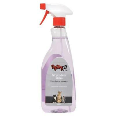Spray Stop odeur litiere 500 ml - Pour chat