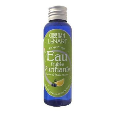Eau fruitee purifiante 100 ml
