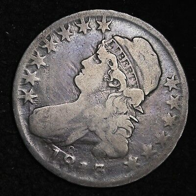 1813 Capped Bust Half Dollar CHOICE FINE FREE SHIPPING E262 AMF