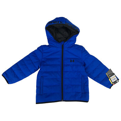 Under Armour Feature Cold Gear fabric Puffer Toddler Boys Jacket  size 3T NWT