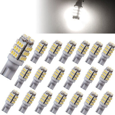20 x T10 High Power 6000K Projector Backup Light Reverse LED Bulbs Pure White