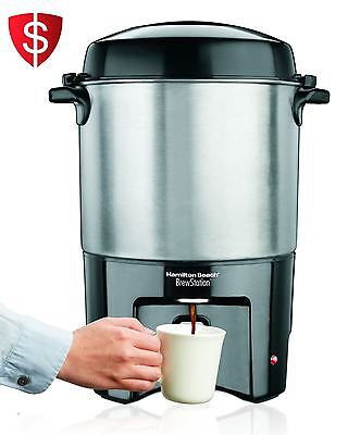 Hamilton Beach Commercial Brew Station 40-Cup Coffee Maker Machine Brewing Offic