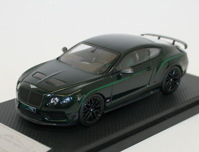 Almost Real 1/43 Scale Metal Model 430405 Bentley Continental GT3-R 2015 Green
