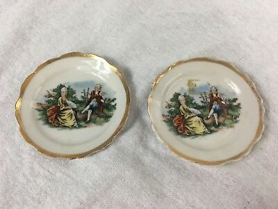 Made in Occupied Japan China Butter Pats Set of 2