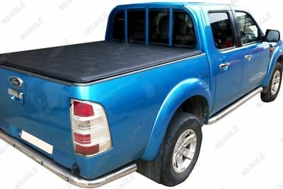 Ford Ranger 06 to 12 Soft Roll Up Tonneau Cover Soft Vinyl Load Bed Cover