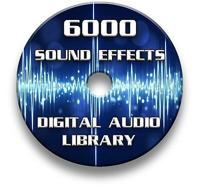 Over 6000 Royalty Free Digital Sound Effects Mp3 Cd