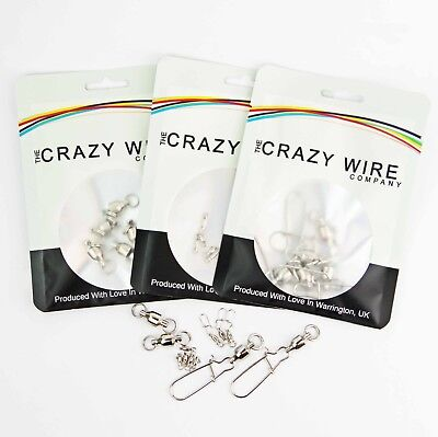 Ball Bearing Fishing Swivels by The Crazy Wire Company