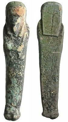 Egypt, Late Period, 21st - 25th Dynasties, 600 - 332 BC, Faience Ushabti