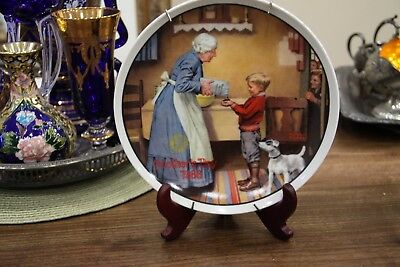 Antique Collectors Plate- The Pantry Raid by Norman Rockwell *LTD EDITION*