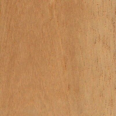 """Spanish Cedar Wood Veneer Unbacked Sequence Matched 3 sq. ft (7 pc - 5.5"""" x 12"""")"""