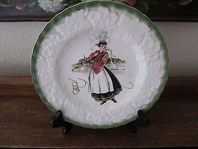 Vintage Alfred Meakin, England, French Costumes 18Th Century Plate