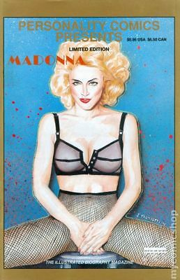 Personality Comics Presents Madonna #2B 1991 VG Stock Image Low Grade