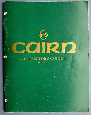 CAIRN COLLECTORS GUIDES 1-5 Plus Order Form -House of OOH's & AH's Las Vegas, NV