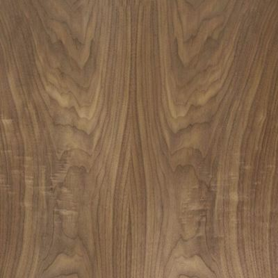 "Natural Walnut Veneer Sheet Real Wood 36"" x 42"" 10mil Over 10 SqFt"