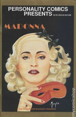 Personality Comics Presents Madonna 1A 1991 VG Stock Image Low Grade