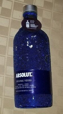 Absolut Vodka Holiday Bottle SEQUIN 750ML 2017 Limited Edition - Empty