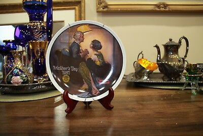 Collectors Plate- After the Party by Norman Rockwell *1st LTD EDITION*
