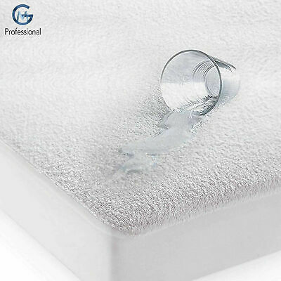 Waterproof Mattress Protector Terry Towel Fitted Cover Wet Sheet Nursery Bedding