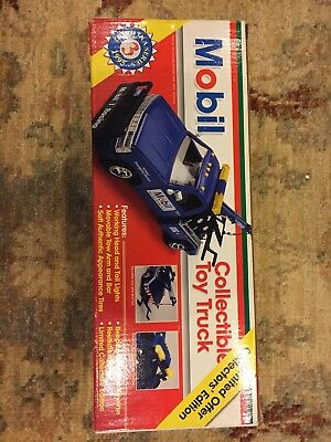 Mobil Collectible Toy Truck — Limited Offer Collectors Edition
