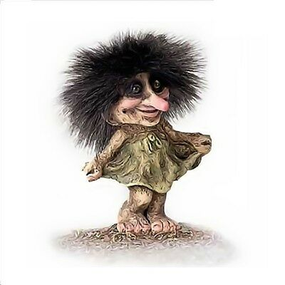 Troll Nyform 030 Dancing Girl Originale Collezione Norvegese Portafortuna