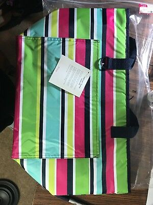 THIRTYONE Thirty One 31 Gifts Tote-Ally Thermal Tote NEW Preppy Pop